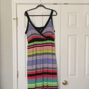 Beautiful Lane Bryant Maxi Dress Sz 18/20